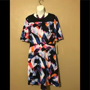 Maggie L Dresses - Maggie L, lovely multi color dress size 12